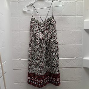 NWT Sleeveless Geometric Patterned Dress